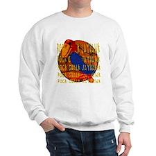 Rock Chalk Jayhawk Basketball Sweatshirt