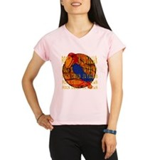 Rock Chalk Jayhawk Basketball Performance Dry T-Sh