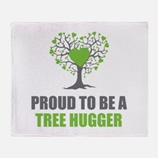 Tree Hugger Throw Blanket