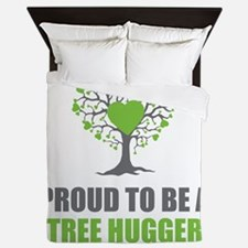 Tree Hugger Queen Duvet