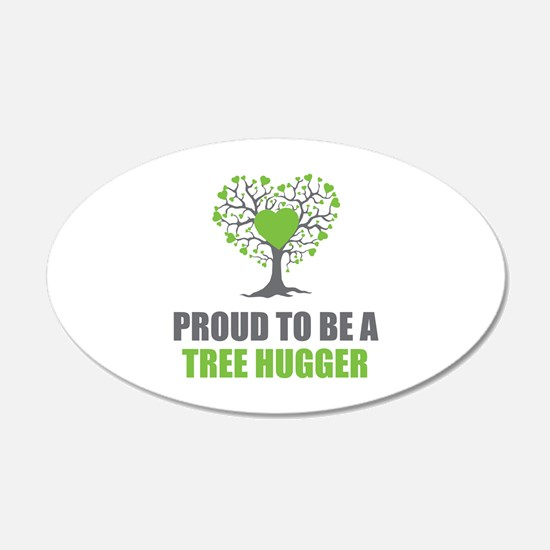 Tree Hugger Decal Wall Sticker