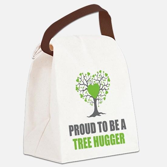 Tree Hugger Canvas Lunch Bag