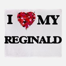 I love my Reginald Throw Blanket