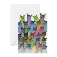Saint Paul Stray Cats Greeting Cards