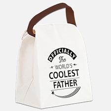 Coolest Dad Canvas Lunch Bag