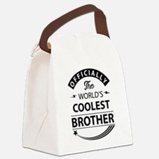 world's coolest brother Canvas Lunch Bag