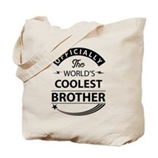 world's coolest brother Tote Bag