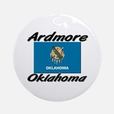Ardmore Oklahoma Ornament (Round)