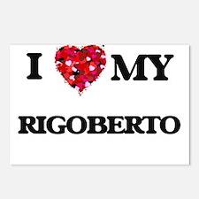 I love my Rigoberto Postcards (Package of 8)