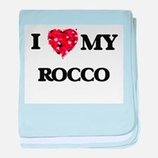 I love my Rocco baby blanket