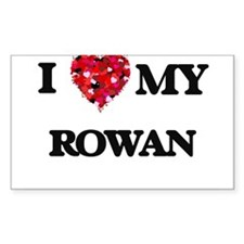I love my Rowan Decal