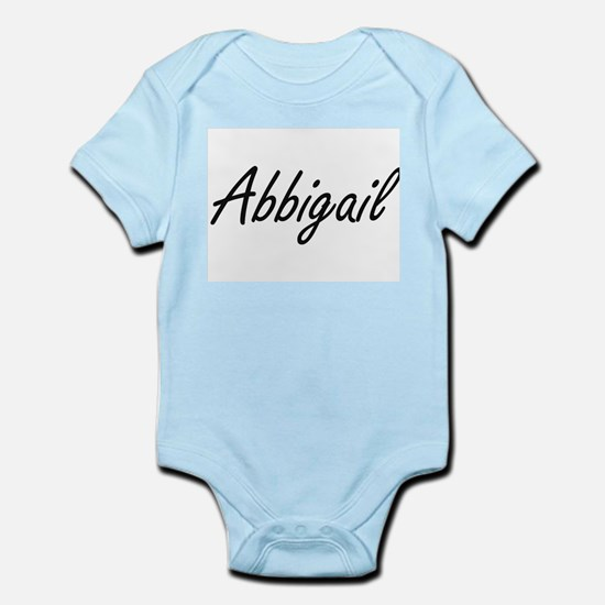 Abbigail artistic Name Design Body Suit