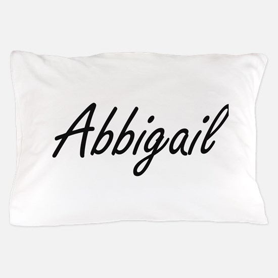 Abbigail artistic Name Design Pillow Case