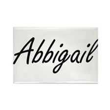 Abbigail artistic Name Design Magnets