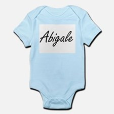 Abigale artistic Name Design Body Suit