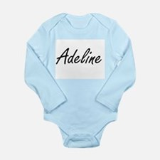 Adeline artistic Name Design Body Suit