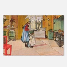 The Kitchen Vintage Illus Postcards (Package of 8)