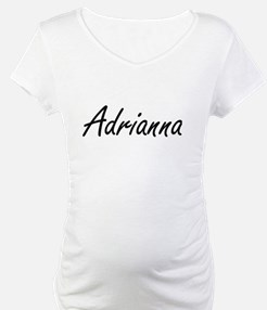 Adrianna artistic Name Design Shirt
