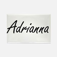 Adrianna artistic Name Design Magnets