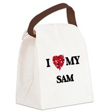 I love my Sam Canvas Lunch Bag