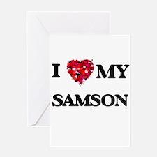 I love my Samson Greeting Cards