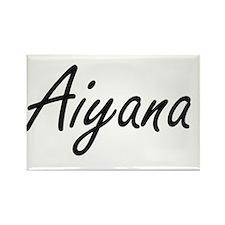 Aiyana artistic Name Design Magnets