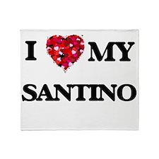 I love my Santino Throw Blanket