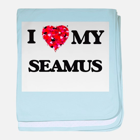 I love my Seamus baby blanket