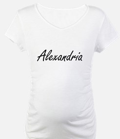 Alexandria artistic Name Design Shirt