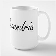Alexandria artistic Name Design Mugs