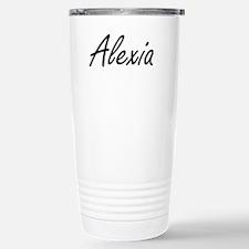 Alexia artistic Name De Travel Mug