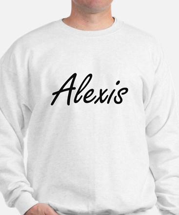 Alexis artistic Name Design Sweater