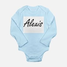 Alexis artistic Name Design Body Suit