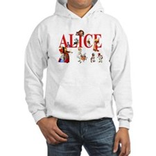 Alice and Friends in Wonderland Hoodie