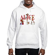 Alice and Friends in Wonderland Hoodie Sweatshirt