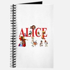 Alice and Friends in Wonderland Journal