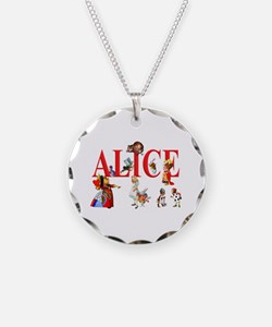 Alice and Friends in Wonder Necklace