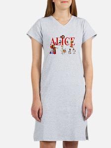 Alice and Friends in Wonderlan Women's Nightshirt