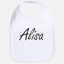 Alisa artistic Name Design Bib