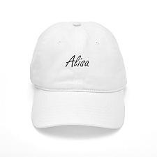 Alisa artistic Name Design Baseball Cap