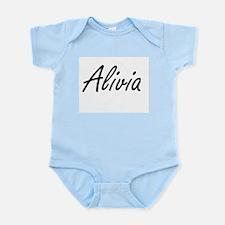 Alivia artistic Name Design Body Suit