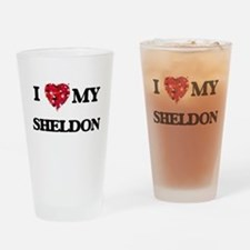 I love my Sheldon Drinking Glass