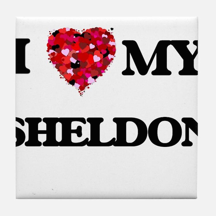 I love my Sheldon Tile Coaster