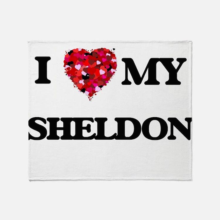 I love my Sheldon Throw Blanket