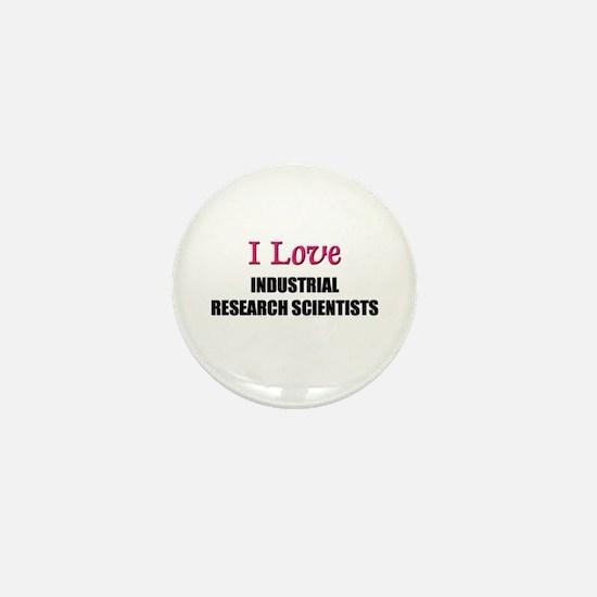 I Love My ACADEMIC LIBRARIAN Mini Button