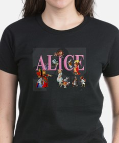 Alice and Friends in Wonderl Tee