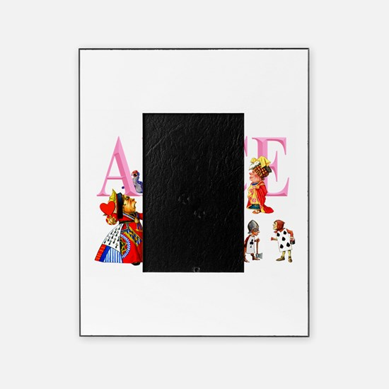 Alice and Friends in Wonderland Picture Frame