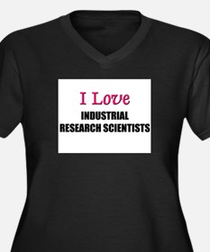 I Love My ACADEMIC LIBRARIAN Women's Plus Size V-N