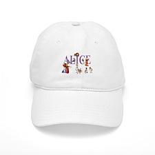 Alice and Friends in Wonderland Baseball Baseball Cap