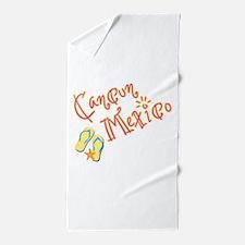 Cancun Mexico - Beach Towel